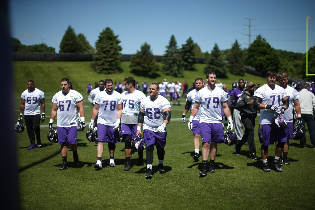 Vikings Rookies Report Early To Training Camp