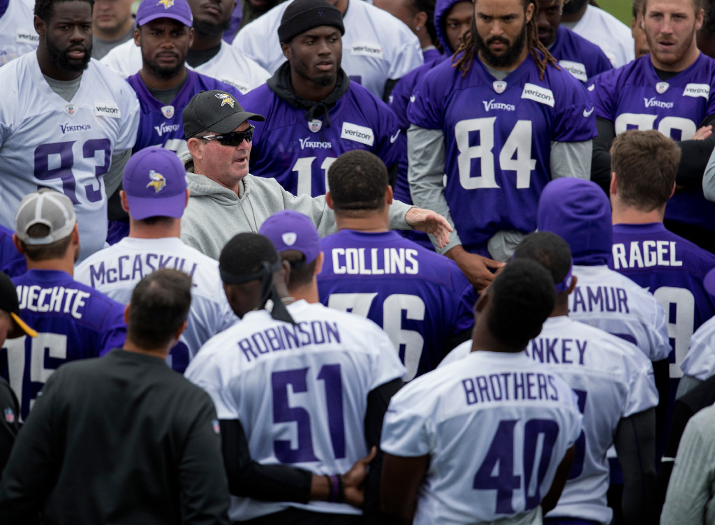 Who makes the cut  Our Vikings regular-season roster projection ... 109c2468b