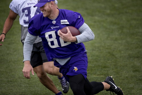 best service a5744 7334b Brian Robison, Kyle Rudolph won't play for Vikings vs. 49ers ...