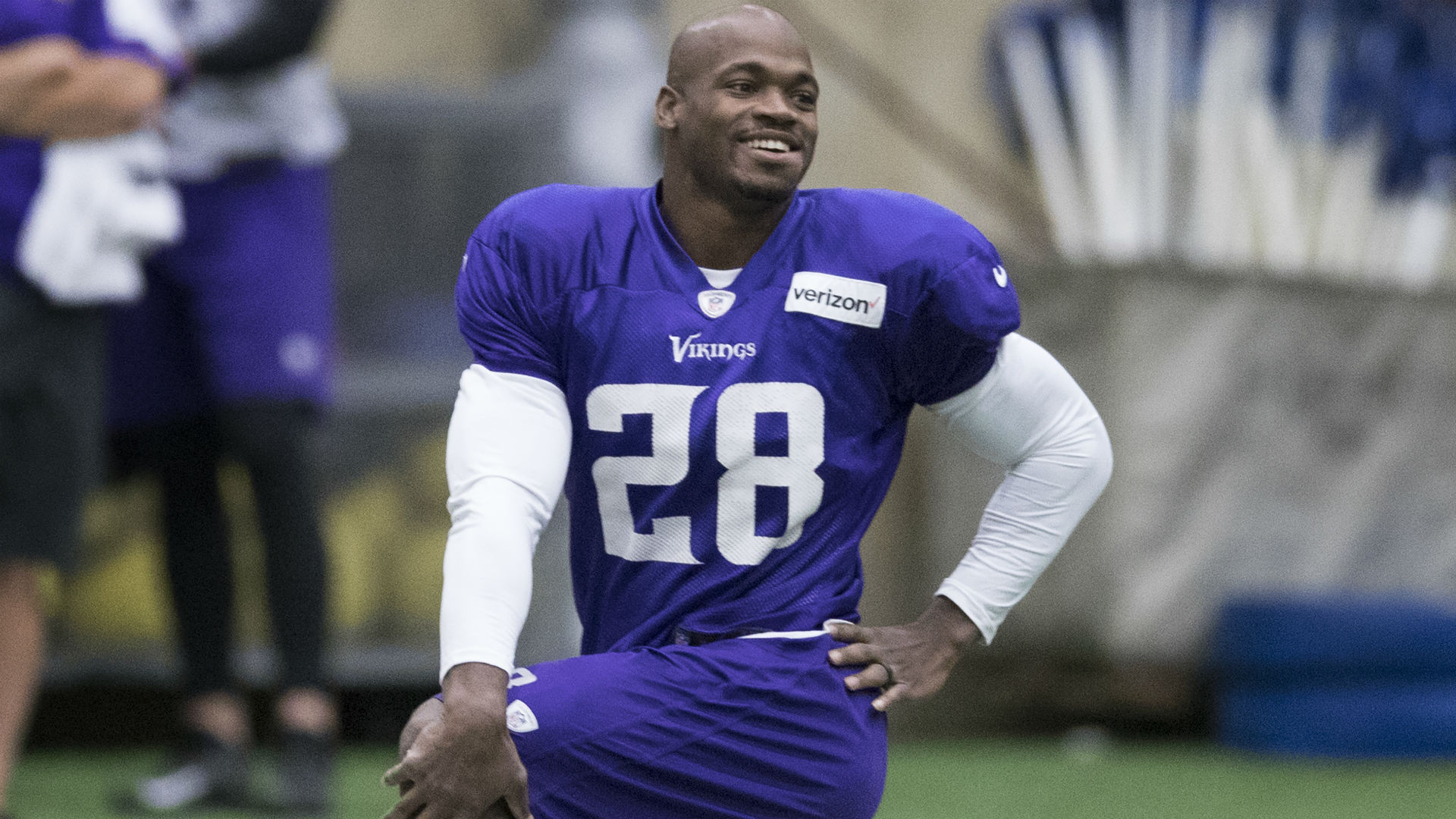 Former Vikings RB Adrian Peterson Still Looking For A Team In 2018