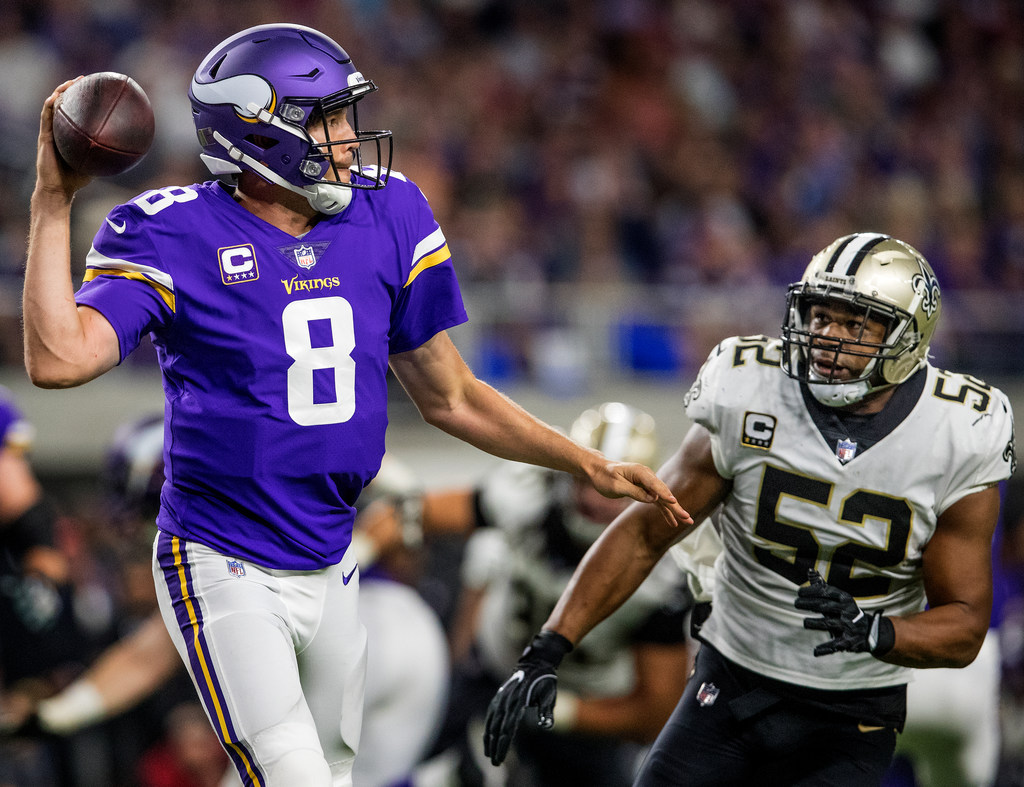 Mike Zimmer expects Sam Bradford Anthony Barr to play Sunday for