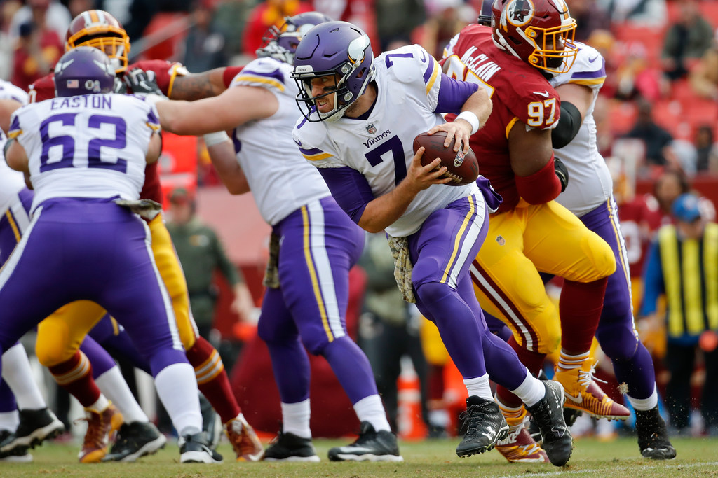 fb972f2a4 Film review  How Case Keenum and the Vikings have made him a Teflon  quarterback
