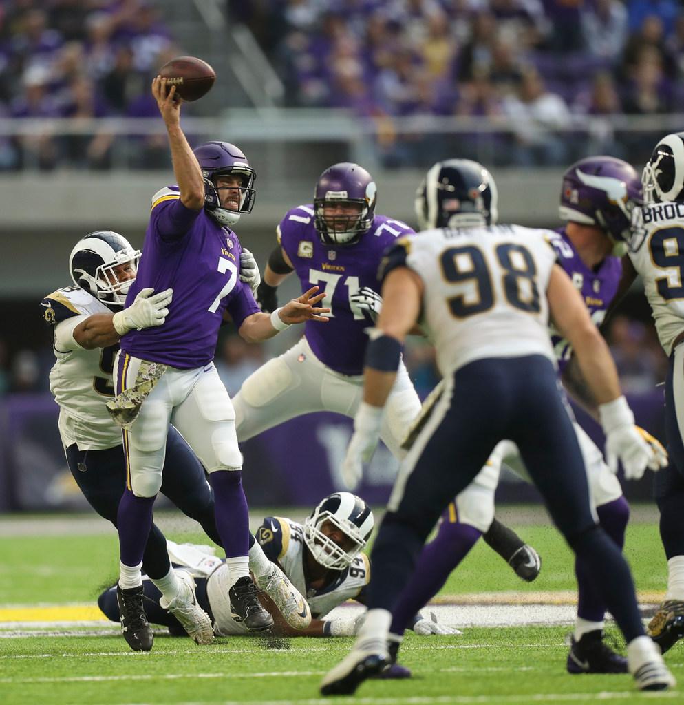 Minnesota Vikings QB Case Keenum continues to thrive