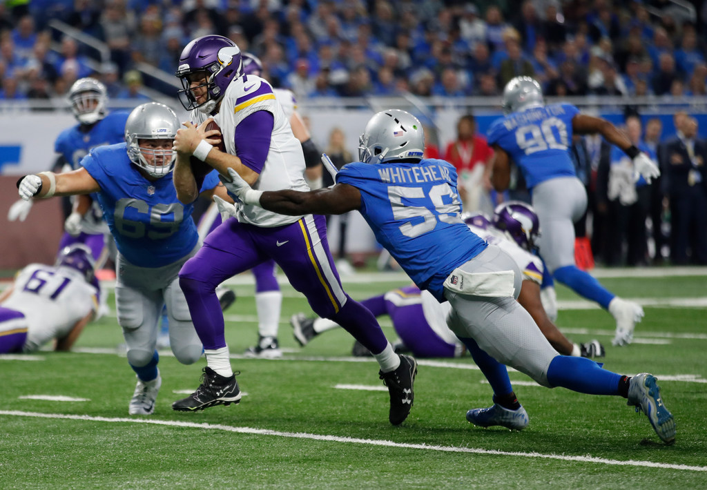 Vikings QB Keenum NFC Offensive Player of the Month