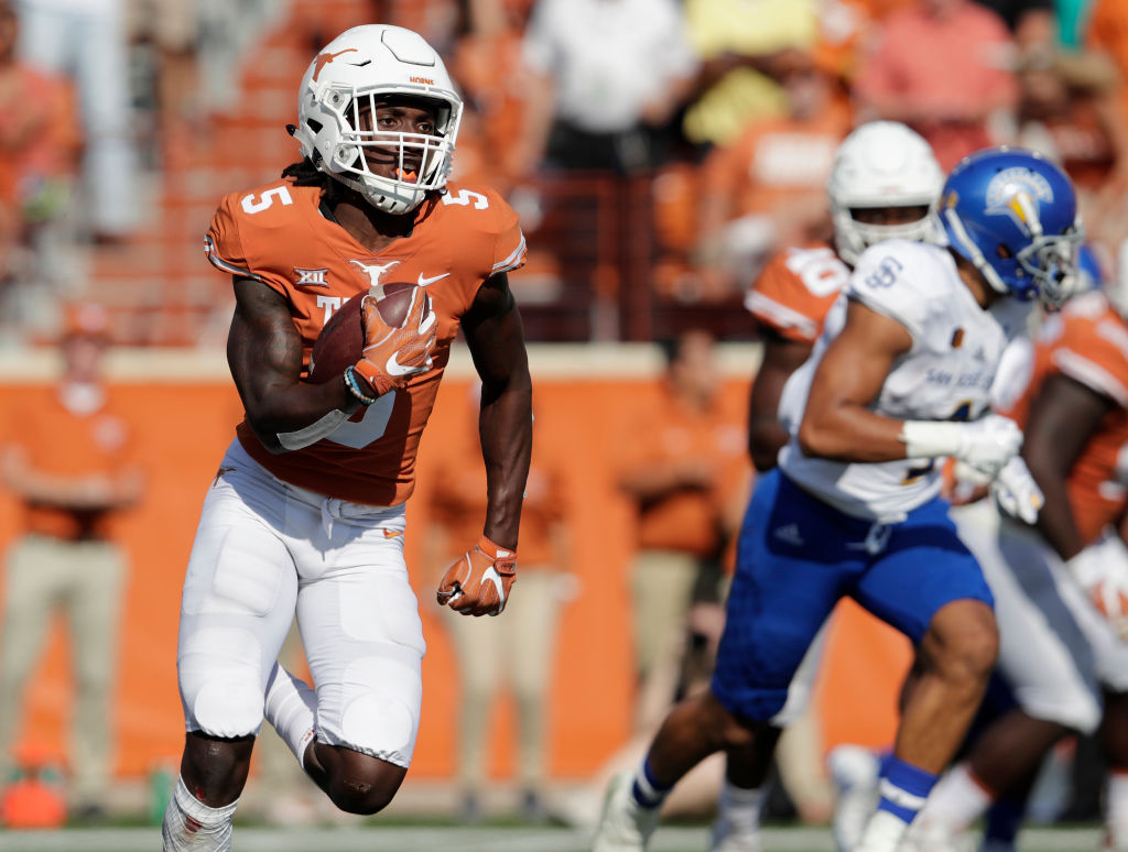 Many Draft Analysts Felt Former Texas Cornerback Holton Hill Was At Least A  Late Round Pick, Even Though The 6 Foot 2 Talent Was Suspended For His  Final ...