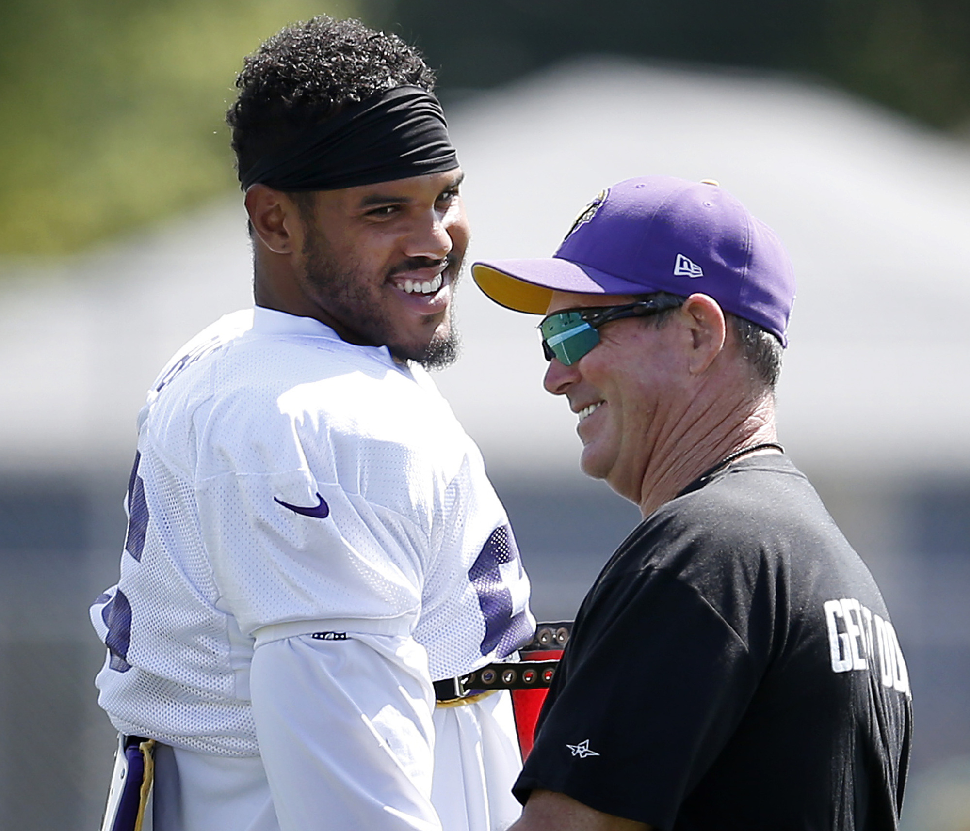 aac165c7 My guy.' Zimmer wants Vikings to sign Barr to long-term deal ...
