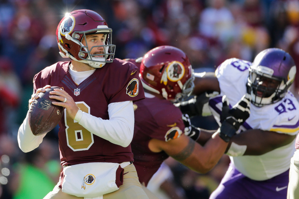 Kirk Cousins, Redskins OK with QB playing '17 on tag