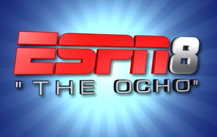 'You're watching ESPN 8 - The Ocho'…wait, what?