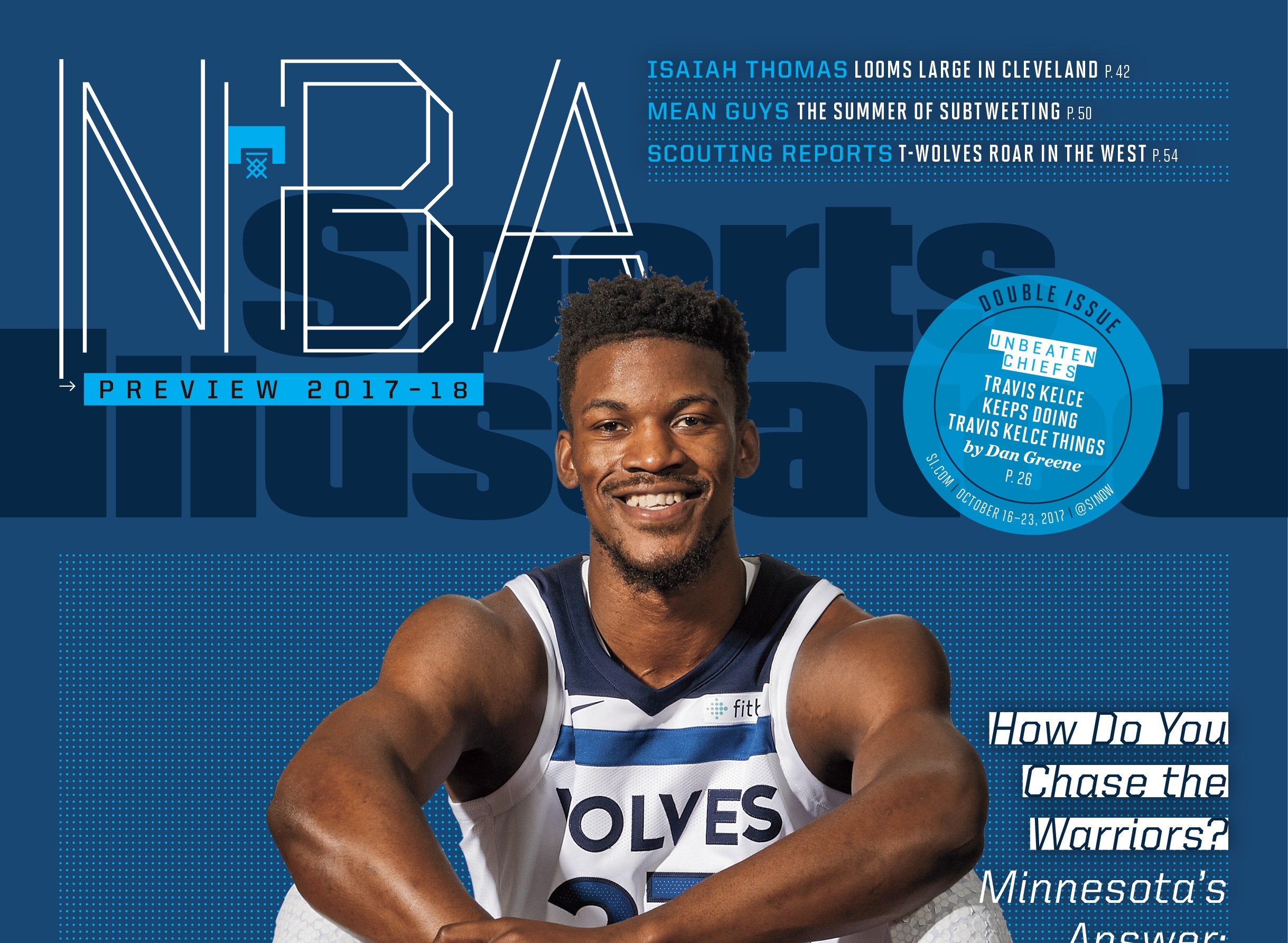 359cfb538bcc8d Jimmy Butler was on the cover of Sunday s Star Tribune and now graces the  cover of Sports Illustrated s NBA preview issue. Both of those are  positions of ...