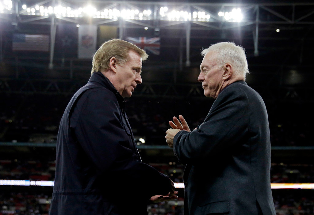 Jerry Jones requests meeting to talk Roger Goodell contract negotiations