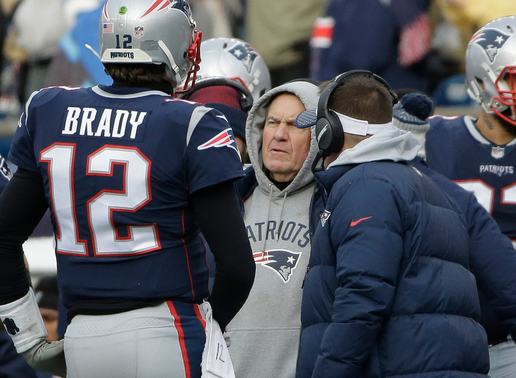 Patriots insist there's no rift between Kraft, Belichick and Brady