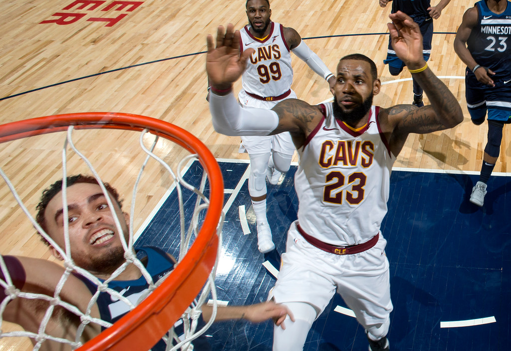 9d45671d803f There were plenty of highlights and defining moments in the Wolves  127-99  rout of the Cavaliers on Monday