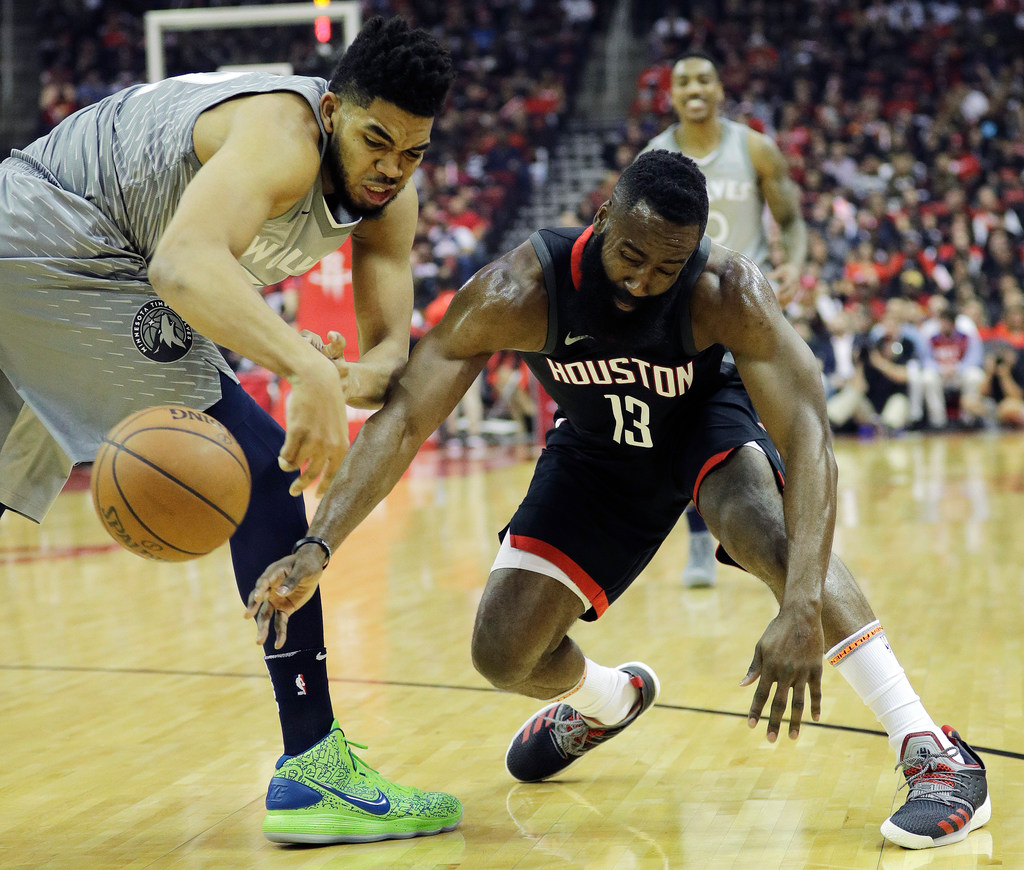 4fcd9f306e46 In the aftermath of the Wolves  104-101 loss to the heavily favored Rockets  in Game 1 of the playoffs Sunday — Minnesota s first playoff game in 14  years ...