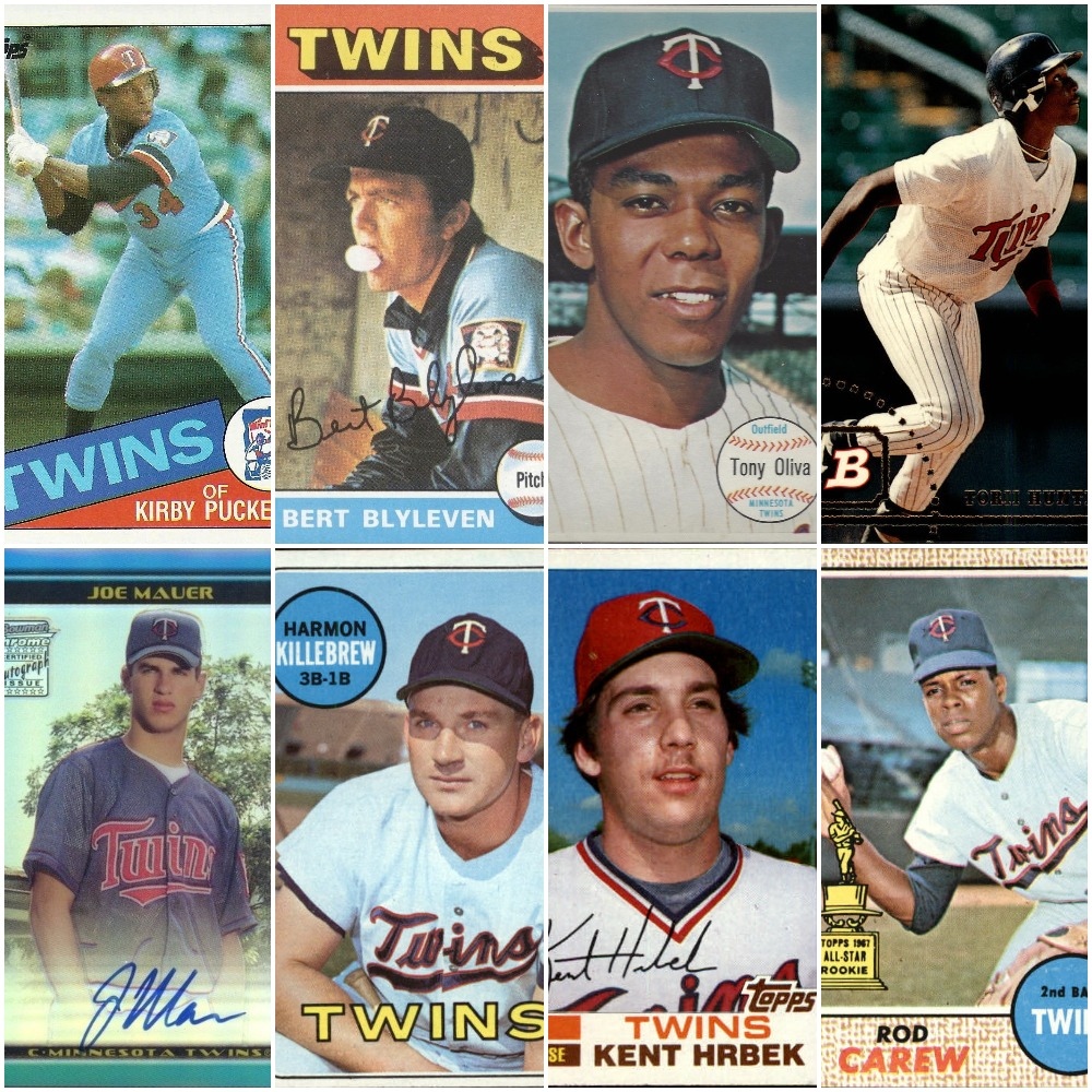 Do You Agree With This All Time Twins Baseball Card Team