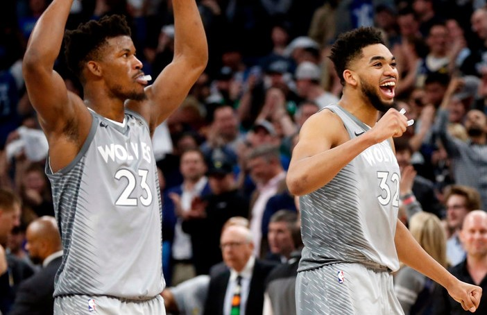 The Timberwolves  Offseason Discontent Tour had its third (at least) stop  Tuesday with a report from the Chicago Sun-Times  Joe Cowley about Jimmy  Butler. 0eb15a2ae