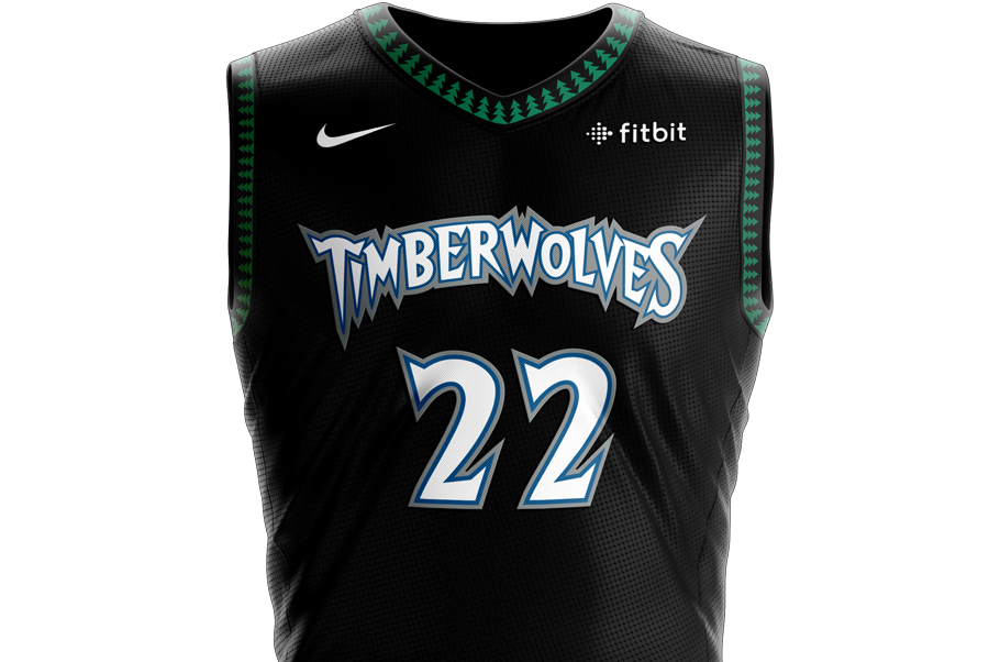 1ad228a86491 Timberwolves bringing back classic  tree  uniforms this season ...