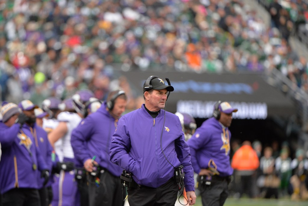6a1ac6e6 In addressing reporters Monday afternoon, less than 24 hours after  digesting a loss to the Patriots, Vikings head coach Mike Zimmer was asked  to look ahead ...