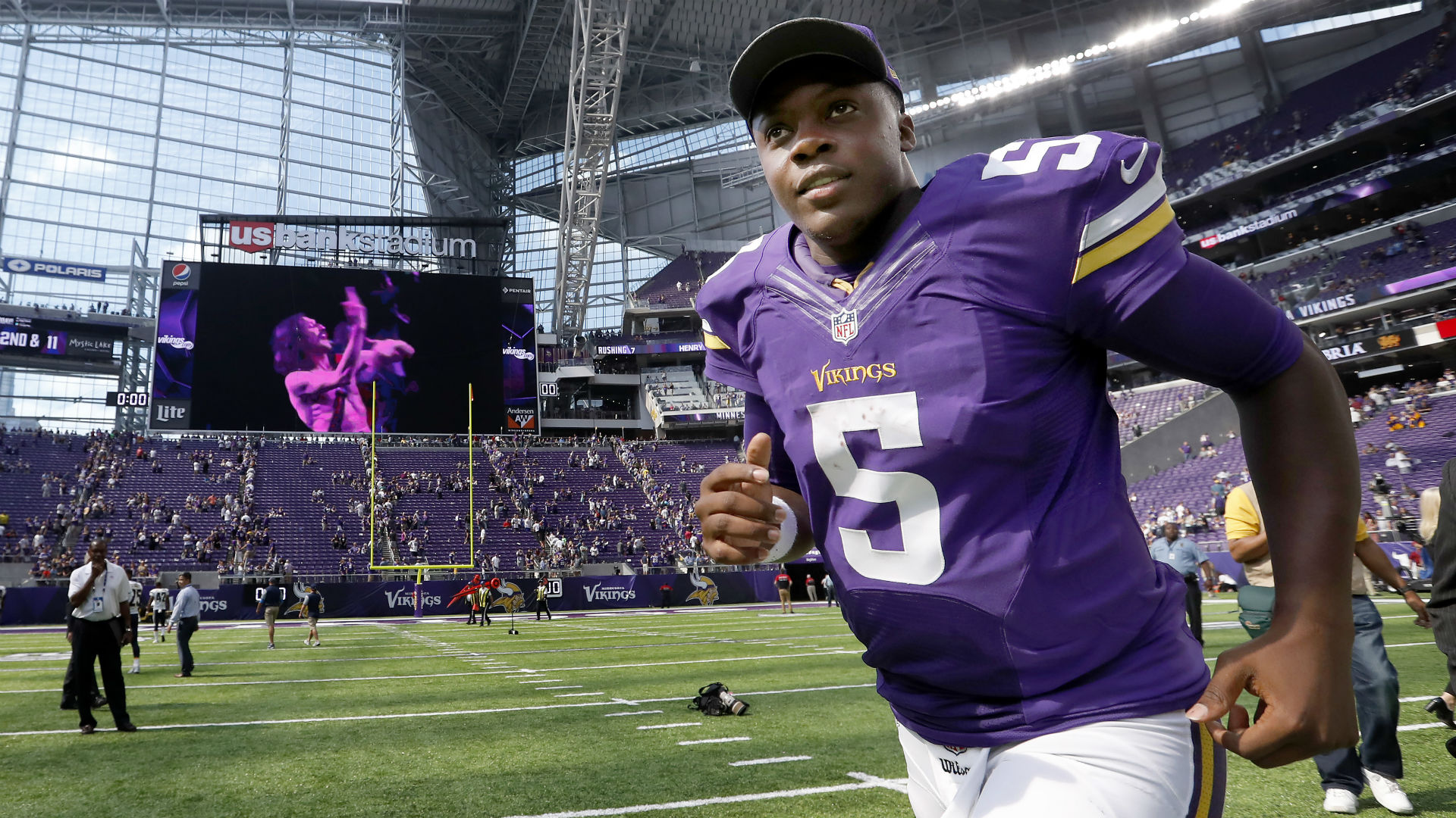Bridgewater update: Vikings staff encouraged by look at QB ...