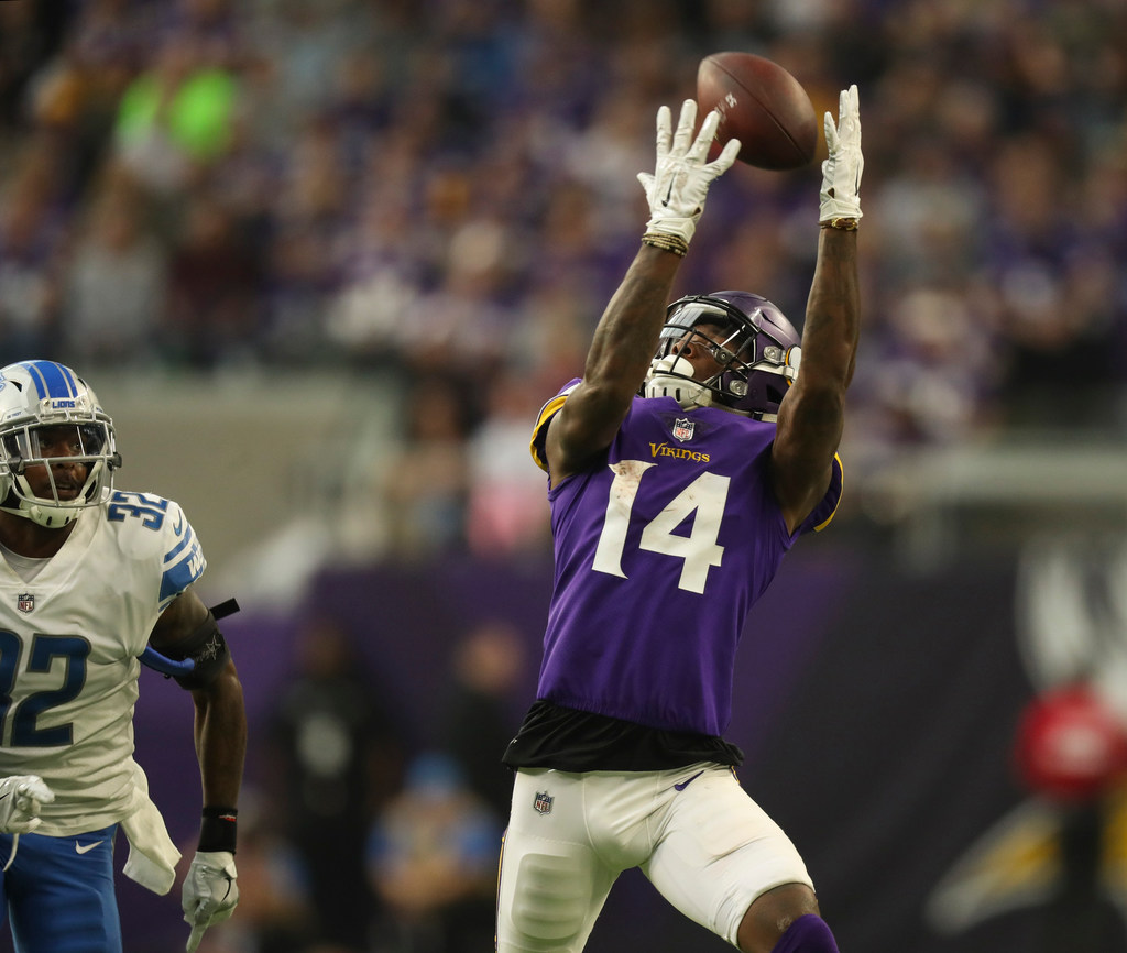 Stefon Diggs' deal with Vikings: Guaranteed money early, salary ...