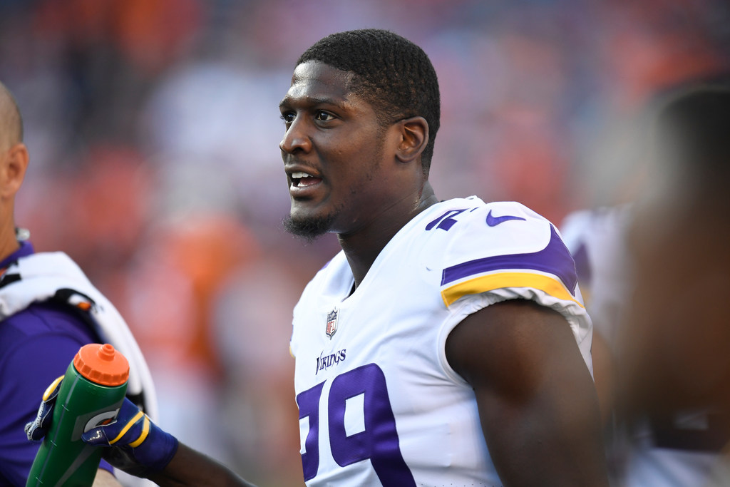 cheaper c13d9 07dcb Cornerback Xavier Rhodes listed questionable to play for ...