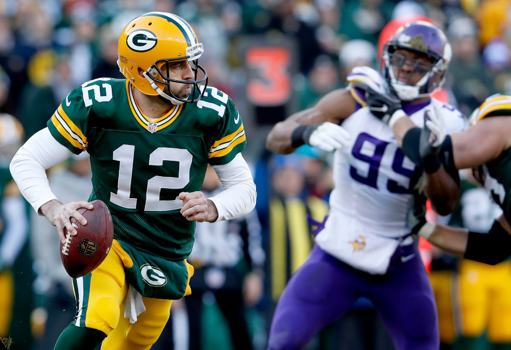 44a3aa41305 Vikings-Packers inactives  Aaron Rodgers will play vs. healthy Vikings