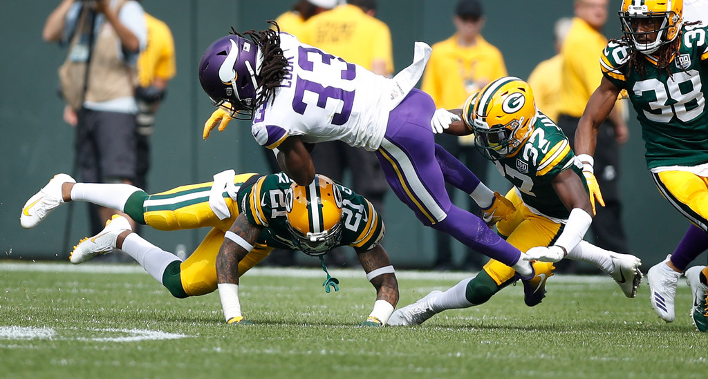 ... Griffen Will Be Held Out Of Sundayu0027s Game Against The Bills After  Neither Player Practiced All Week, According To Vikings Head Coach Mike  Zimmer.