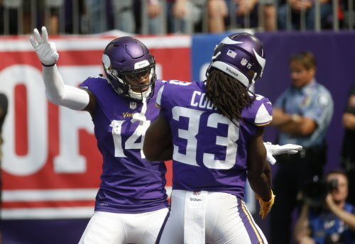 on sale d95b5 bbade Dalvin Cook's return could help Vikings' passing game vs ...