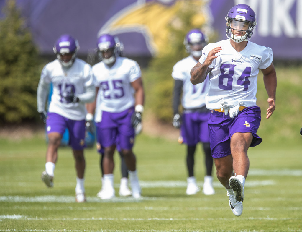 competitive price 7307f f78c1 After the draft: A look at the Vikings' depth chart ...