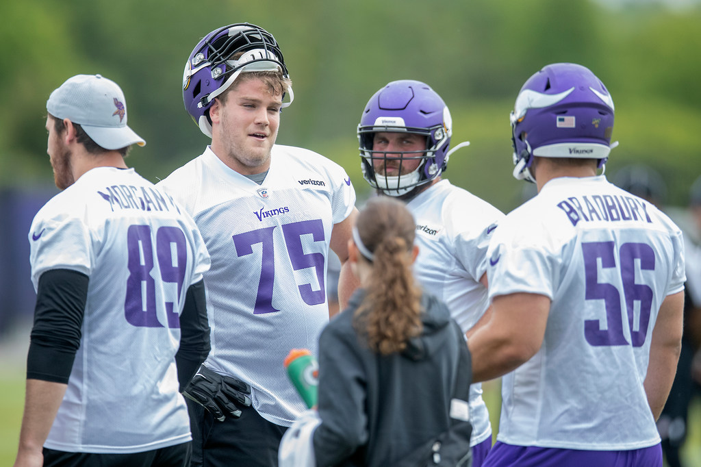 on sale c8648 6b6f2 O'Neill returns from injury; Vikings young tight ends earn ...