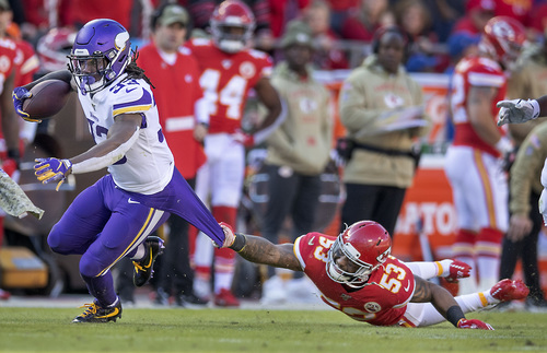 In Vikings Loss To Chiefs Dalvin Cook Had To Run Forward