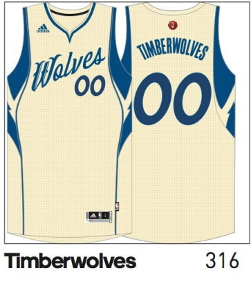 b5518a8afec Christmas comes early  Special Timberwolves jerseys revealed ...