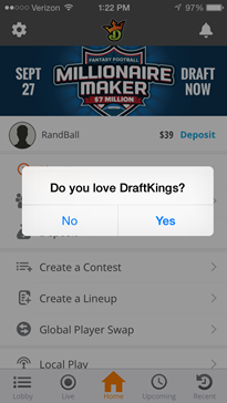 doyoulovedraftkings