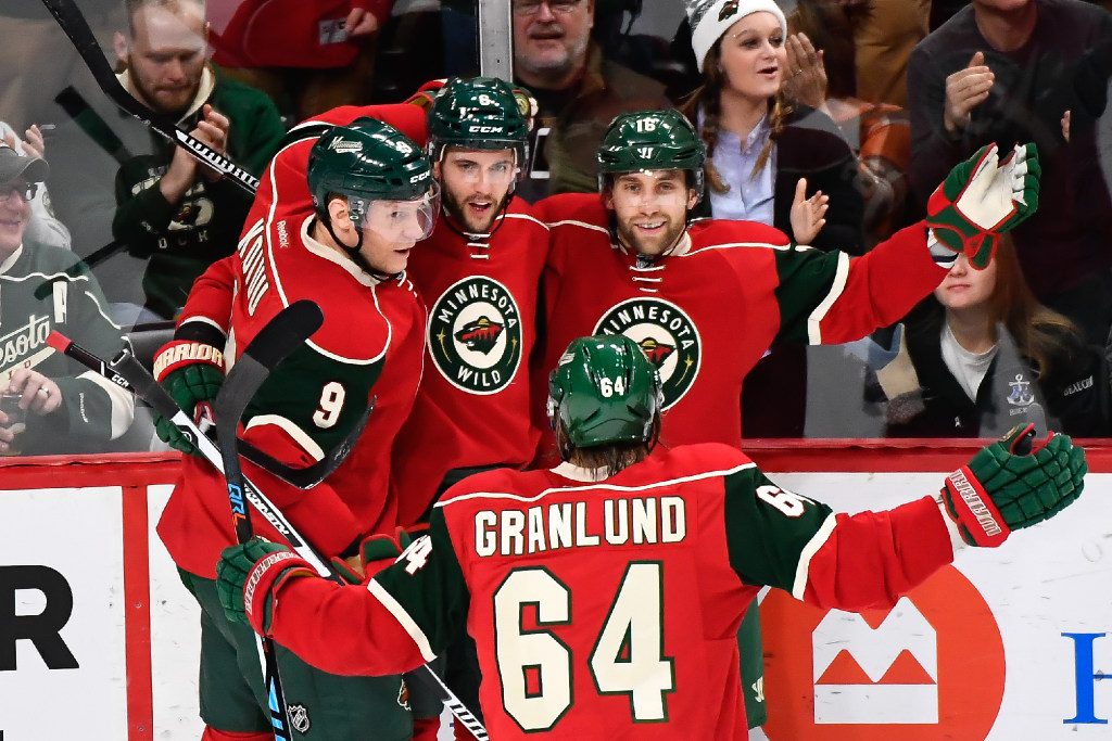 Red or green jerseys  if Wild is forced to choose 5691bf8ee